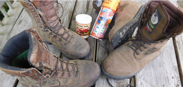take care of hunting boots