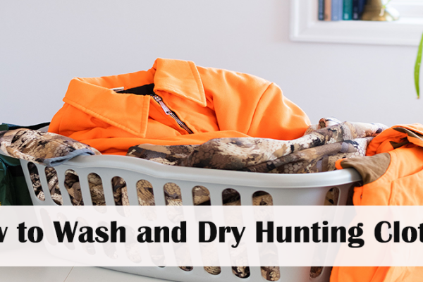 How to Wash and Dry Hunting Clothes