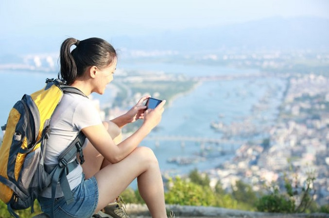 About Smartphone For Hiking