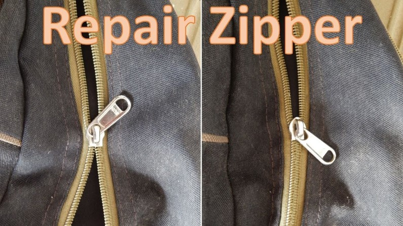Fix Entire Zipper That Doesn't Close Properly