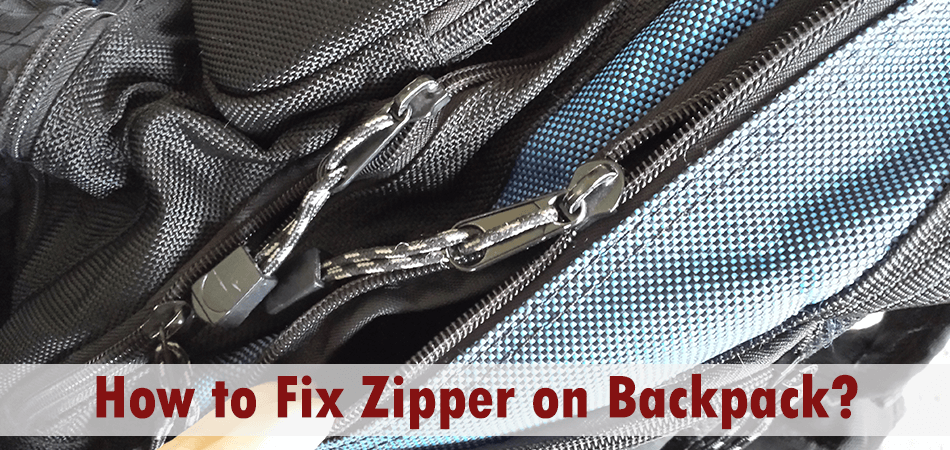 How to Fix Zipper on Backpack?