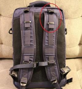 Shoulder strap loops